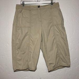 Chico's khaki shorts, size 1.5